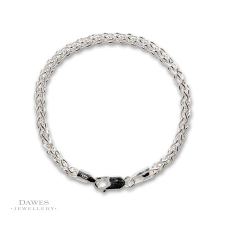 Sterling Silver Spiga Bracelet