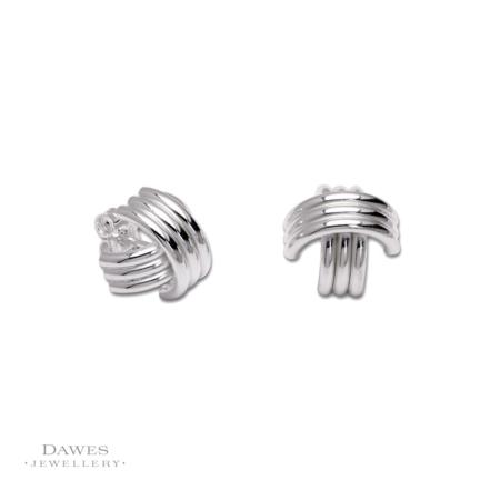 Sterling Silver Stud Earrings Fancy
