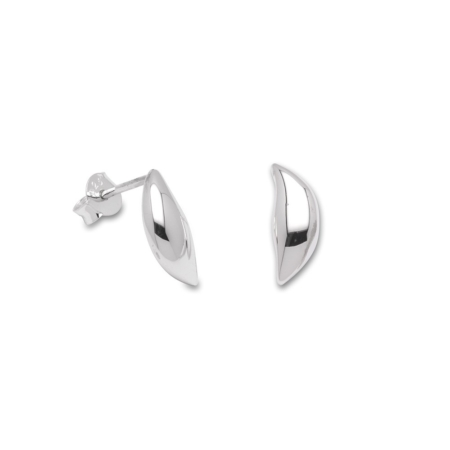 Silver Fancy Stud Earrings
