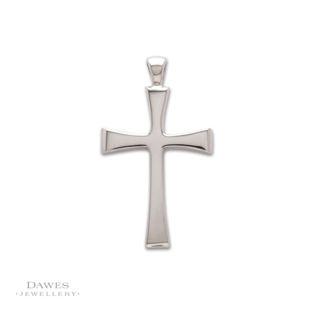 Large Sterling Silver Templar Cross