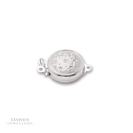 Sterling Silver Single Row Clasp