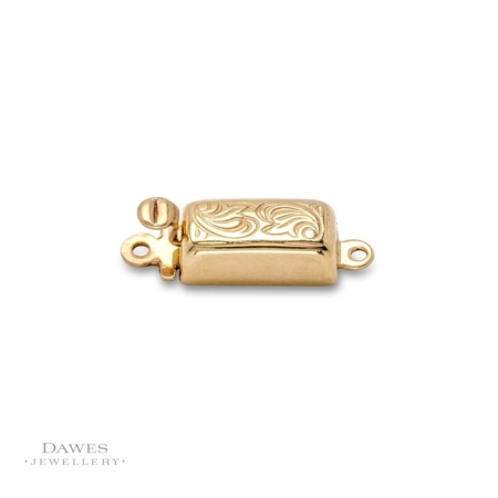 Silver Gilt Box Clasp For Jewellery