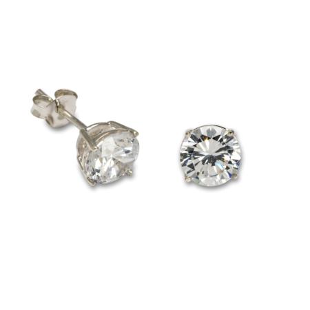 Earrings StoneSet Silver