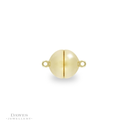 9ct Gold Magnetic Ball Clasp 10mm