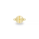 Silver Gilt Magnetic Ball Clasp 9mm