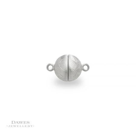 Silver Magnetic Ball Clasp 10mm